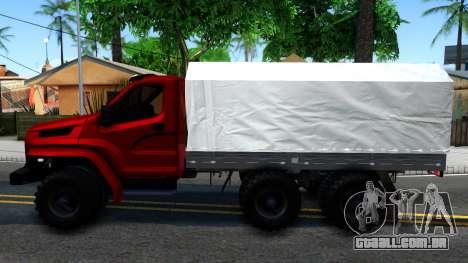 Ural Next para GTA San Andreas