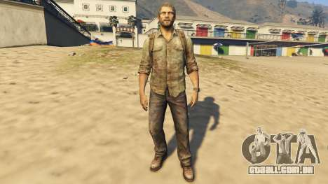 Joel The Last Of Us para GTA 5