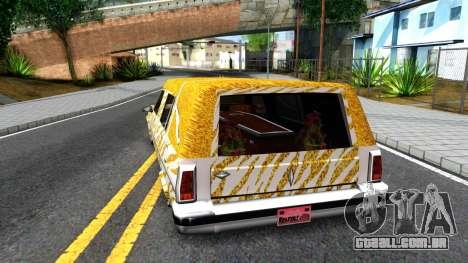 LoW RiDeR RoMeR0 para GTA San Andreas traseira esquerda vista