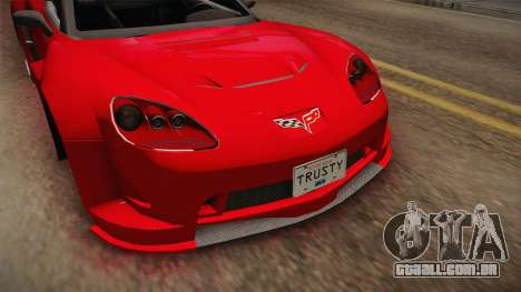 Chevrolet Corvette Z06 American Muscle para GTA San Andreas