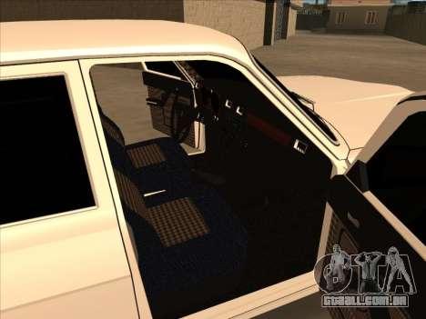 O GAZ 24 DERIVA para GTA San Andreas
