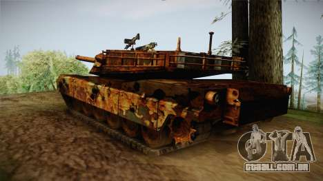Abrams of Hell Rusty para GTA San Andreas