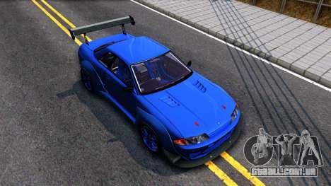 Nissan Skyline GTR R32 Rocket Bunny para GTA San Andreas