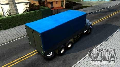 ZIL 133GÂ v2.0 para GTA San Andreas