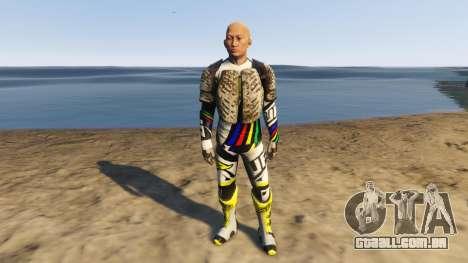 Desalle 25 (Motox Ped) para GTA 5