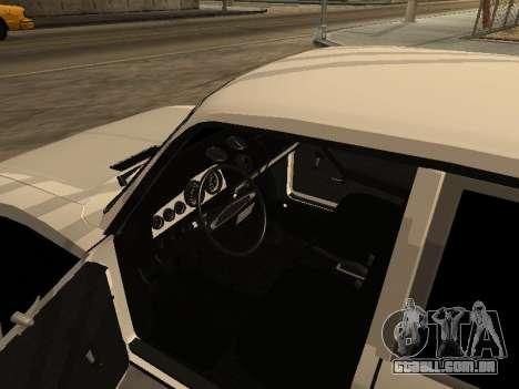 Arménio CAÇADOR 2106 BPAN para GTA San Andreas