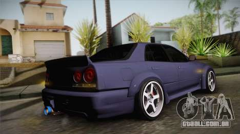 Nissan Skyline ER34 Rocket Bunny para GTA San Andreas
