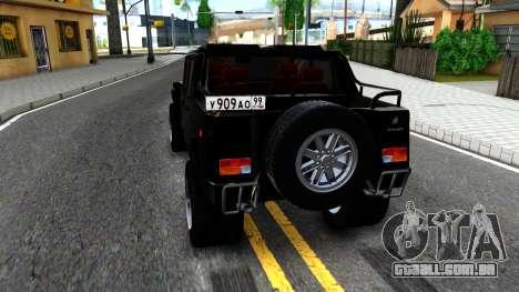 """Lamborghini ML002 From """"Brigada"""" para GTA San Andreas"""