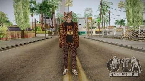 GTA Online Hipster Feline para GTA San Andreas