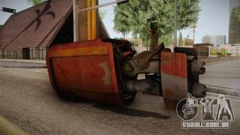 Rey Speeder from Star Wars 7 para GTA San Andreas