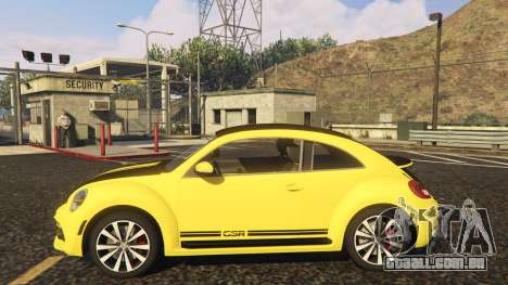 Limited Edition VW Beetle GSR 2012