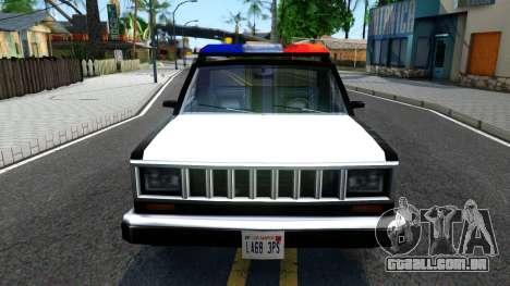 Police Bobcat para GTA San Andreas