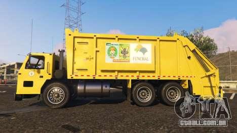 Portugal, Madeira Garbage Truck CMF Skin
