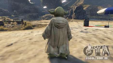 Star Wars Yoda para GTA 5