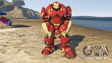 Bigger HulkBuster para GTA 5
