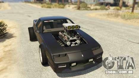IROC-Z Big V8 Drag Car