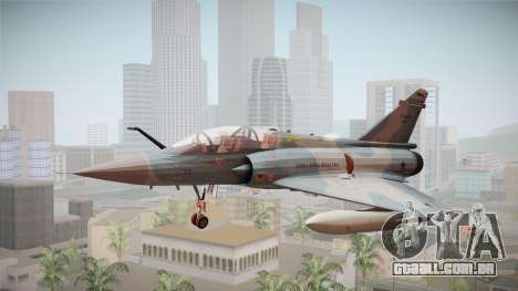 EMB Dassault Mirage 2000-N FAB para GTA San Andreas