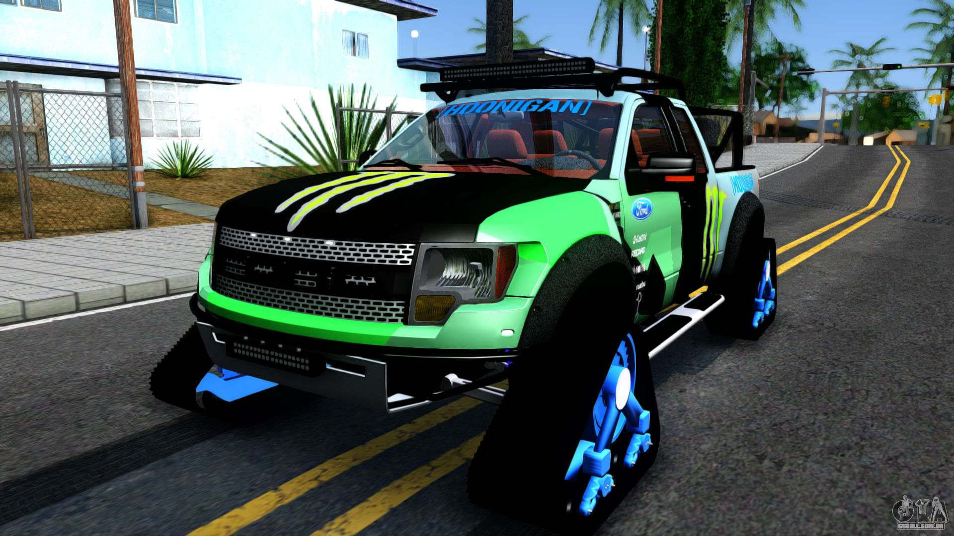 ford f 150 svt raptortrax 2012 ken block para gta san andreas. Black Bedroom Furniture Sets. Home Design Ideas