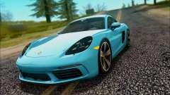 Porsche 718 Cayman S 2017 para GTA San Andreas