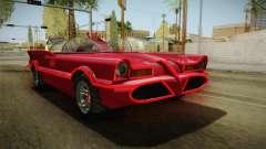 GTA 5 Vapid Peyote Batmobile 66