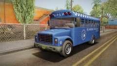 GTA 5 Vapid Police Prison Bus IVF