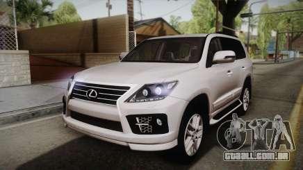 Lexus LX570 F-Sport Design para GTA San Andreas