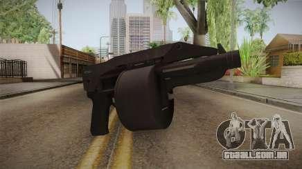 Bikers DLC Sweeper Shotgun para GTA San Andreas