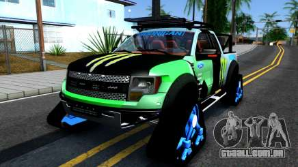 Ford F-150 SVT RaptorTRAX 2012 Ken Block para GTA San Andreas