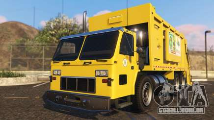 Portugal, Madeira Garbage Truck CMF Skin para GTA 5