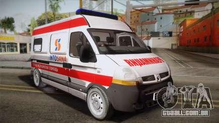 Renault Master Ambulância para GTA San Andreas