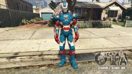Iron Man Patriot para GTA 5