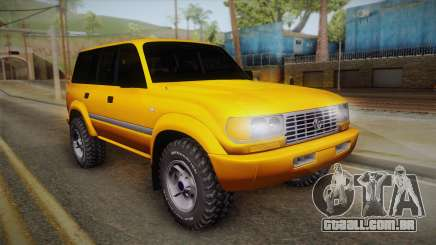 Toyota Land Cruiser 80 Series para GTA San Andreas