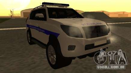 Toyota Land Cruiser Polise Armenian para GTA San Andreas