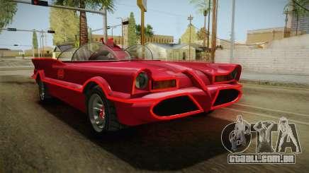GTA 5 Vapid Peyote Batmobile 66 para GTA San Andreas