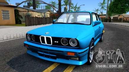 BMW M3 E30 turquesa para GTA San Andreas