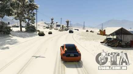 Christmas in Singleplayer (Snow Mod) 1.01 para GTA 5