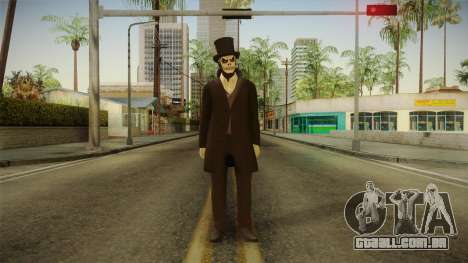 Halloween Surprise DLC Male Skin para GTA San Andreas