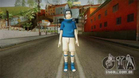 NUNS4 - Sasuke Genin Normal Eyes para GTA San Andreas