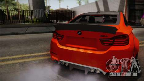 BMW M4 LB Performance para GTA San Andreas