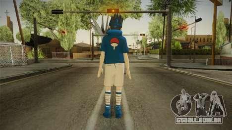 NUNS4 - Sasuke Genin Normal Eyes para GTA San Andreas