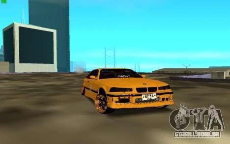 BMW 3 Series E36 para GTA San Andreas