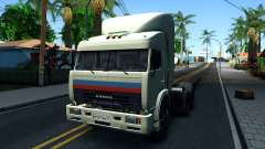 "KamAZ 54115 ""Caminhoneiros"" para GTA San Andreas"