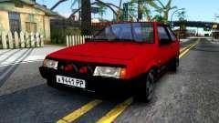 VAZ 2108 Borgonha para GTA San Andreas