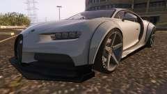 Bugatti Chiron Widebody para GTA 5