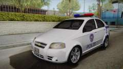 Chevrolet Aveo Turkish Police para GTA San Andreas