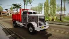 Peterbilt 351 Dump Truck para GTA San Andreas