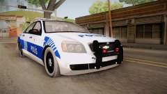 Chevrolet Caprice Turkish Police para GTA San Andreas