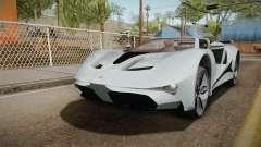 GTA 5 Vapid FMJ Roadster para GTA San Andreas