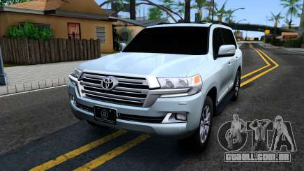 Toyota Land Cruiser 200 2016 PML Edition para GTA San Andreas