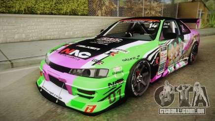 Nissan Silvia S14 D1GP Itasha para GTA San Andreas